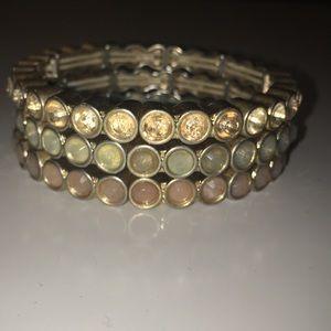 LOFT Elastic Stackable Bracelets